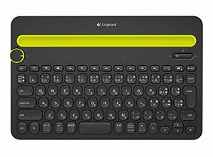 LOGICOOL Bluetooth Multi-Device Keyboard k480 Black from Japan New Android/iOS