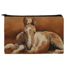 Foal Baby Horse New Paint Makeup Cosmetic Bag Organizer Pouch