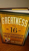 """Don Yaeger Signed Book! """"Greatness"""""""