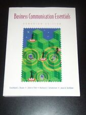 BUSINESS COMMUNICATION ESSENTIALS Bovee 1e Cdn 2004 NEW