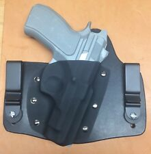 Leather Kydex hybrid IWB holster for CZ 75d PCR compact