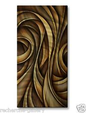 Metal Wall Art USA Made Artwork Modern Abstract Wall Sculpture Swaying