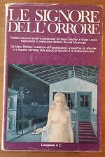 "Le signore dell'orrore, Manley & Lewis, Longanesi, 1973, 1a ed., ""La ginestra""."