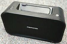 Memorex ML621 Portable Speaker Universal Line In USB Charging Full Stereo Sound