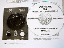 Cushman 304 Preselector Operating And Service Manual Excellent Schematics