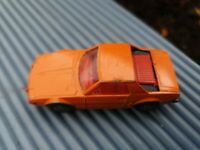 Vintage Corgi Juniors Orange Fiat X19 Car - corgi juniors fiat X1/9
