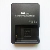 MH-24 Charger For Nikon EN-EL14 Battery  D3100 D5100 D3200 P7100 P7000