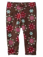 Baby Gap girl brown pink leggings Himalaya Chelsea Enchanted Abbey Road 18-24