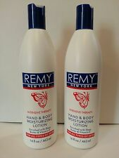Remy Intensive Therapy Hand & Body Lotion - 2 16oz. Bottles - No Tax Free Ship