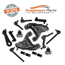 Suspension Kit Upper Arms Ball Joints Sway Bar Tie Rod End Chevy 4WD Blazer, S10