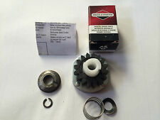 Briggs and stratton ride on lawnmower electric start starter drive gear kit 7-19