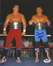 Dynamite Kid Signed WWE 8x10 Photo PSA/DNA COA Picture The British Bulldogs Auto