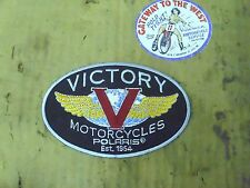 "VICTORY (POLARIS) P/N#P2835930, TANK BADGE PATCH-SMALL (5""),NOS.#"