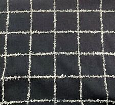 Knoll Textiles Wool Blend #K21569 Catwalk In Black Tie Upholstery Fabric 6 Yards