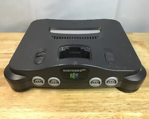 Nintendo 64 Video Game Console Only As-Is Parts Or Repair