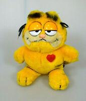 Garfield mit Herz Plüsch Figur ca. 18 cm DAKIN