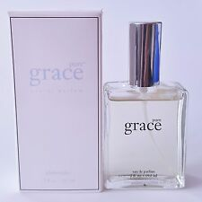 PHILOSOPHY PURE GRACE EAU DE PARFUM SPRAY 2OZ EDP AMAZING! BLUE/WHITE BOX ORIGI
