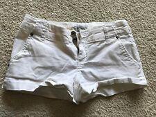 GUESS Jeans Cotton Linen Shorts Size 26 White