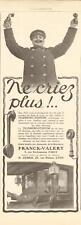 1913 PubliciteTelephone-Automobile : TELEMICRO STENTOR , Interphone