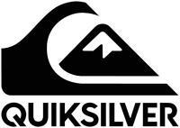 Quiksilver Logo I surf Vinyl Decal sticker Car Window Laptop Surfboard Sticker