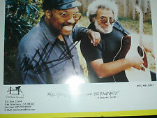 Merl Saunders signed Photo w/ Grateful Dead Jerry Garcia