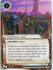 Android Netrunner LCG - 1x #093 Nihongai Grid - Martial Law