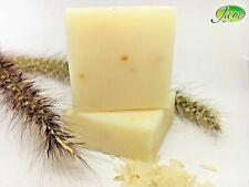 Rice Milk Soap Thai Herbal Whitening Body Face Wash Collagen Acne Handmade 60 g
