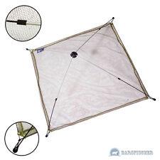 Esca Pesce-depressione 100x100cm, baitnet, ombrello depressione, Nylon-Larghezza maglia rete circa 6mm