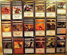 DEVILISH! * RAKDOS Unleash Custom Magic Deck MTG Deck * Wizards of the Coast