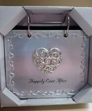"""Malden International Designs Wedding """"Happily Ever After"""" Flip Album Picture Fra"""