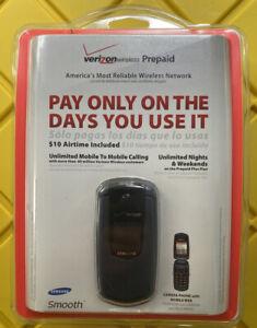 New Verizon Samsung Smooth Cell Phone SCH-U350 Prepaid Phone