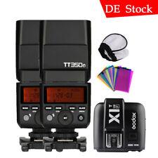Godox TT350S Mini TTL HSS 2.4GHz Camera Flash for Sony A77II a7R A6500 A7 - Negra