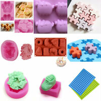 3D Christmas Bell Claw Soap Mould Silicone Cookie Mold DIY Chocolate Making Mold