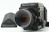 【N MINT】 MAMIYA RB67 Pro S Body + SEKOR C 127mm f/3.8 Lens +120 film back JAPAN