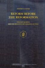 Reform before the Reformation: Vincenzo Querini and the Religious Renaissance in