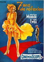 Kino # Merchandising # Film-Postkarte # Das verflixte 7. Jahr # F. Nugeron
