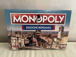 Monopoly edizione Bergamo nuovo sigillato Raro 7000 pz Comunity Games hasbro
