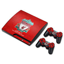 Liverpool FC PLAYSTATION PS3 SLIM Console Skin Decal Sticker + 2 Controllers