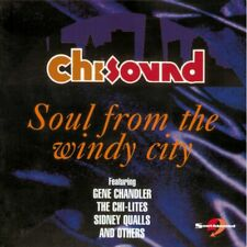 "CHI SOUND ""SOUL FROM THE WINDY CITY - 70's & 80's MODERN SOUL"" 15 TRACKS CD"