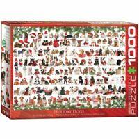 Eurographics 1000 Piece Jigsaw Puzzle  - Christmas Puppies  EG60000939