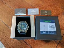 Festool 90 Year Chronograph Tachymeter Watch Ltd, Edition - 498864 Collectors