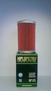 Hiflofiltro OE Quality Oil Filter (HF155) Fits KTM 390 Duke (2014 to 2019)
