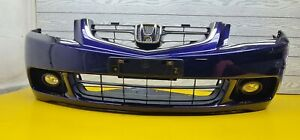 ⭕  HONDA ACCORD CL7 JDM FRONT BUMPER WITH  FOGS AND GRILL  ✔