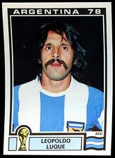 Argentina 78 Leopoldo Luque #106 World Cup Story Panini Sticker (C350)