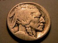 "1919-S Buffalo Nickel ""G"" Good Original Grey Toned Indian Head 5 Cent USA Coin"