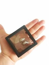 3D Display Floating Frame, Shadow Box, Excellent for Jewelry.  Travel case.