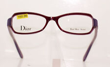 CHRISTIAN DIOR CD3217 2J2 CLASSIC LADIES RED AND PURPLE PLASTIC GLASSES FRAME