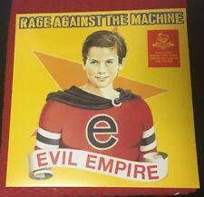 RAGE AGAINST THE MACHINE EVIL EMPIRE. NEWBURY COMICS EXCLUSIVE RED VINYL.