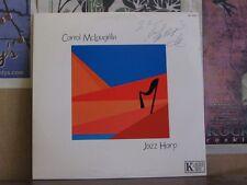 CARROL MCLAUGHLIN JAZZ HARP - AUDIOPHILE AUTOGRAPHED LP
