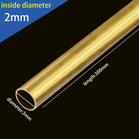 Round Brass Tube Copper Pipe OD 2/3/ 6/8mm For Pipeline Model Making Engineering